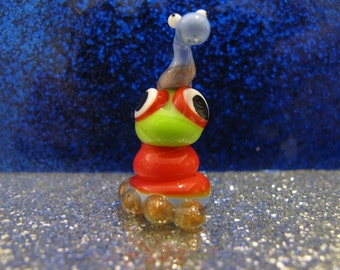 PERRY Glass Lampworked BROOKLYN MONSTER Figure
