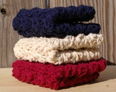 Americana Dish cloths Red, White, Blue