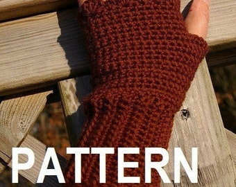 Fingerless Gloves Crochet Pattern PDF