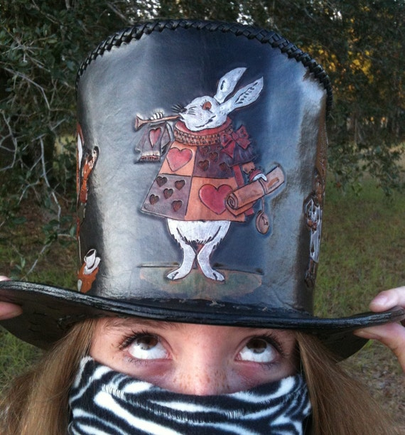 Alice Steampunk Top Hat