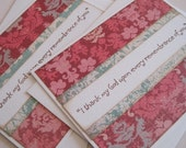 I thank my God... (card pair in damask)