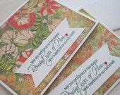 Splendor of the Season (Christmas card pair)