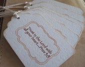 Trust in the Lord, gift/hang tags