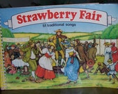 Vintage British and Irish Songs, STRAWBERRY FAIR SONGBOOK 1985, Music, Guitar chords, Illustrated, Soft Cover