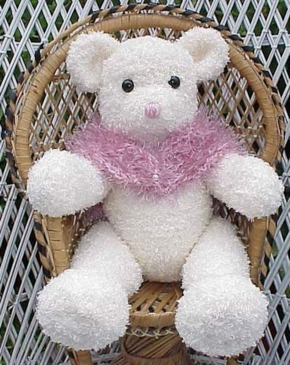 Lovely Lady Jointed Bear Crochet Pattern