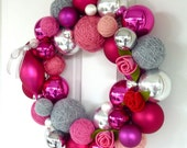 Perfectly Pink Valentine 14 inch wreath