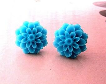 the blue dream blue mum earring