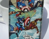Recycled Comic ID,Bus or Metro Pass,Library Card Holder