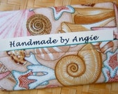 SEASHELL Tissue Holder - She Sells Seashells at the Seashore Fabric
