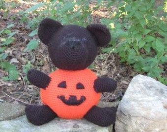 Jaques the Pumpkin Bear - Crochet Pattern instructions