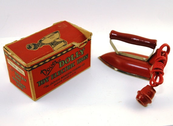 Vintage Dover Dolly Toy Iron New in Box