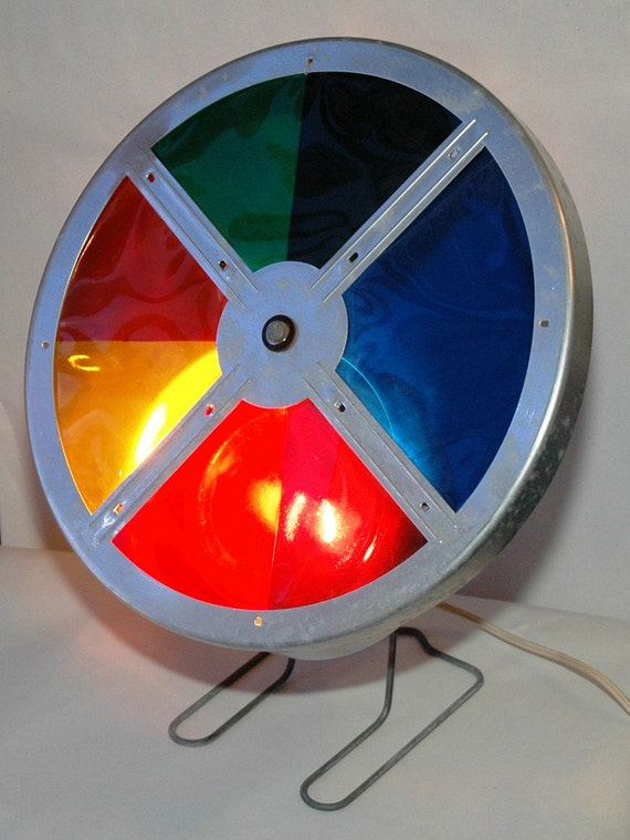 Color Wheel For Aluminum Christmas Tree Early 1960 S