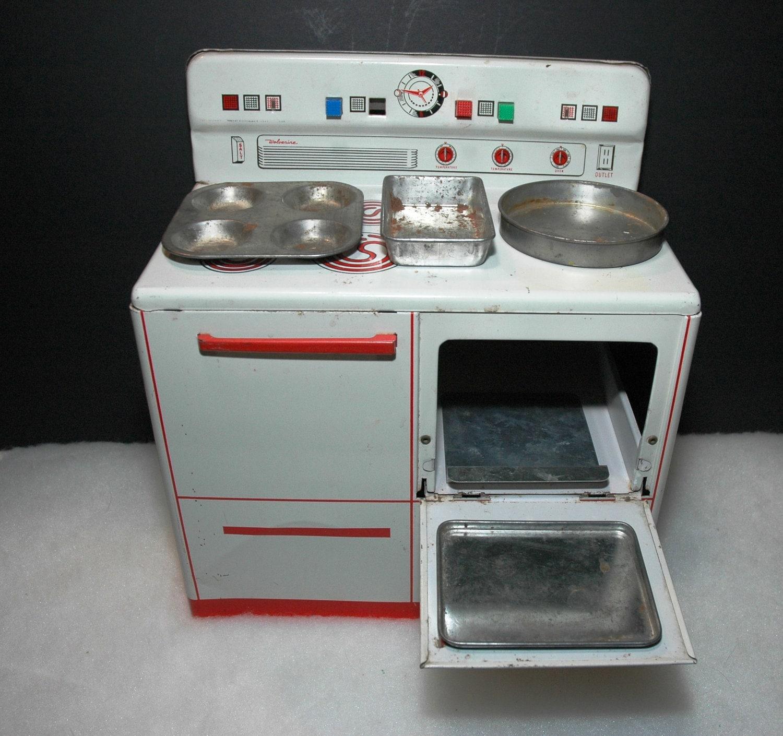 Toy Kitchen Sink Just Diy Toy Kitchen Sink Set: Toy Kitchen 1950's Wolverine Stove/Oven/Sink With Baking