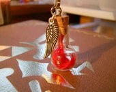 Final Fantasy Bottled Phoenix Down Necklace