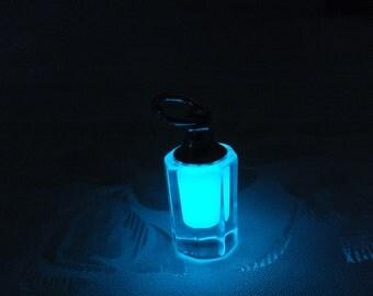 Mini Glow In The Dark Fairy Lantern Bottle Pendant