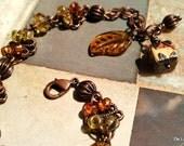 Wooden It Be Nice - Bracelet & Earring Set