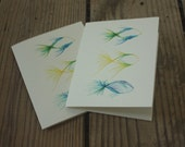 Three Fishies Note Card Set