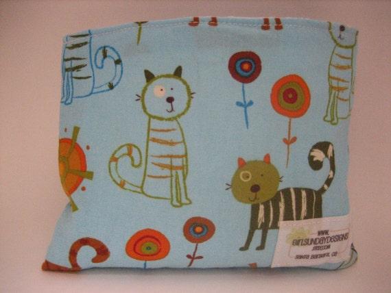 Reusable Snack Bag - Cats