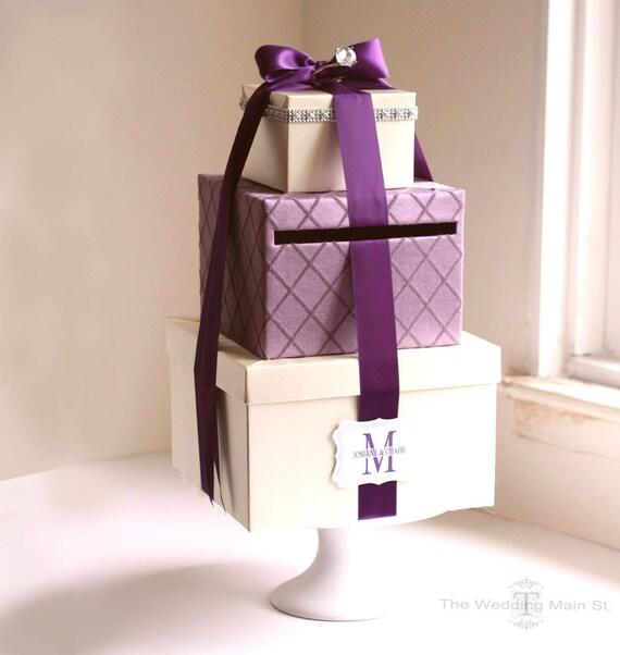 Wedding Gift Card Holder Box: Card Box Wedding Money Holder Wedding Card By Theweddingmainst