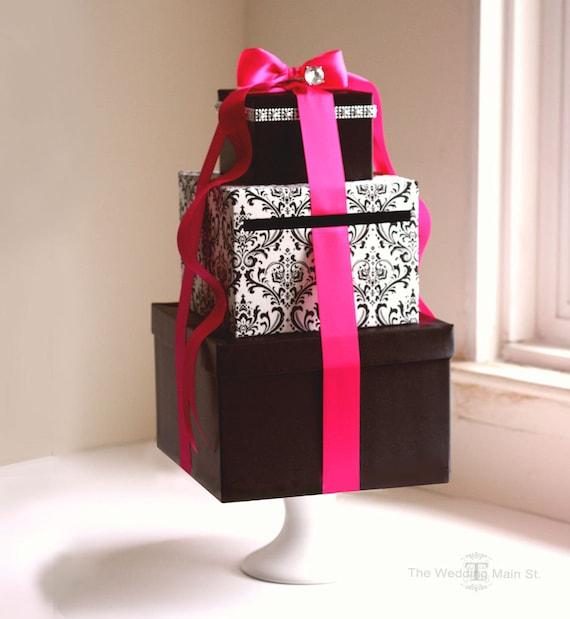 Wedding Card Box Wedding Gift Card Box Wish Card Box Gift Card Holder Money Box