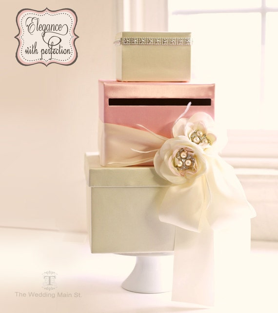 Wedding Gift Box Etsy : ... Card Box Wedding Gift Card Box Wish Card Box Gift Card Holder on Etsy