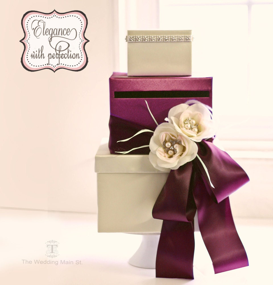 Wedding Gift Box Etsy : Wedding Card Box Wedding Gift Card Boxes Money Card Box