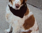 Stone Brown Hound Kerchief-Large size