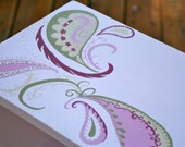Reserved for Olivia...Paisley Bookcase