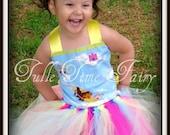 Unicorn Princess Dora TuTu birthday Party dress any size 12 months 18 months 2t 3t 4t 5t