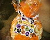 Halloween Things Printable, Custom gift tag, Happy Halloween
