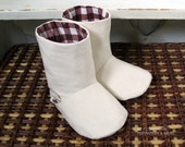 no 072 Charlie Baby Boots PDF Pattern