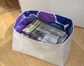 Storage Basket from Vintage Linen