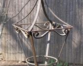 Vintage Iron Plant Stand