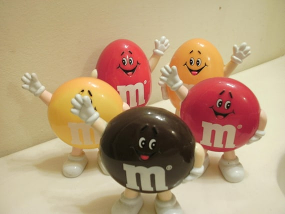 Vintage M&M Candy Dispensers