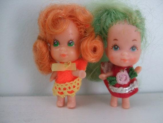 Vintage Liddle Kiddle Dolls-1960's-1970