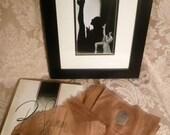 RESERVED: Vintage 1950s Belle Sharmeer Seamless Stockings (3 pairs) in Original Box Size 10 1/2