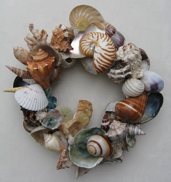 Colorful Shell Wreath (SW27)