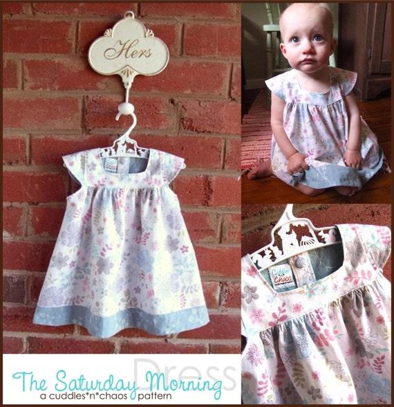 The saturday morning dress pdf pattern