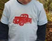 Red Vintage Pickup Tshirt
