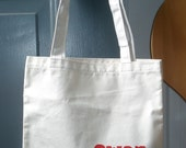 Personalized Red Truck Tote