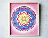 Mandala Original Sand Art Painting