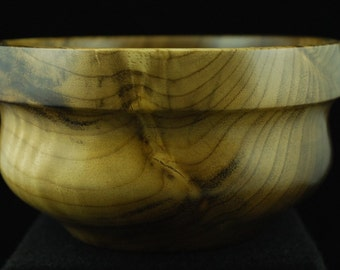 Handmade Custom Wooden Bowl, Oregon Myrtle, WB-141