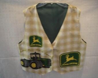 John Deere Adult Vest