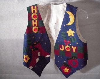 Child's Christmas Vest