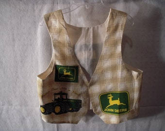 Child's John Deere Vest