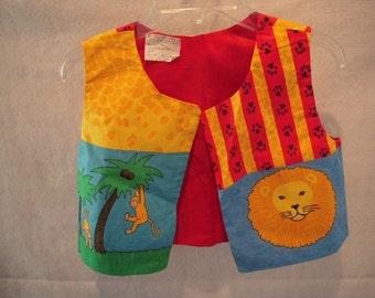 Child's Jungle Vest Size M