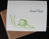 Snail Mail card set