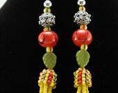 Fall Harvest Chandelier Earrings