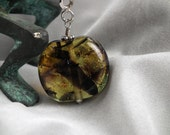 Lampwork Glass and SS Key Chain