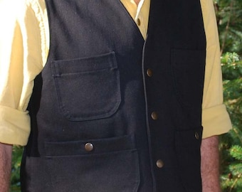 Work Vest heavy duty with 4 pockets.